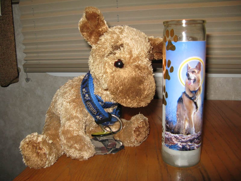 Prayer Candle for Cancer Dogs