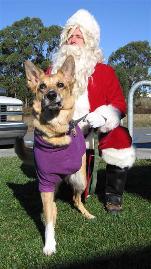 Jerry Visits Santa