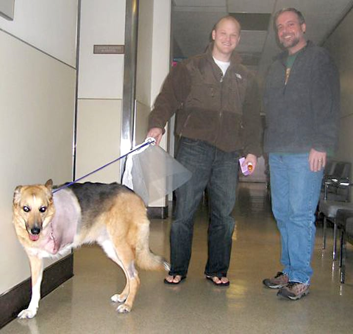 Discharged from UC Davis on Thanksgiving Day, 2006