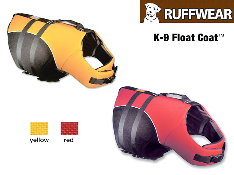 float coat canine life preserver colors